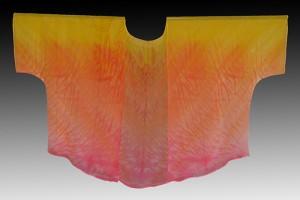 Fire-Shibori-dyed-silk-kimono-jacket_-Pamela-Mattei_-DyeSign