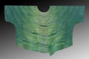 Green-Shibori-dyed-silk-kimono-jacket_-Pamela-Mattei_-DyeSig