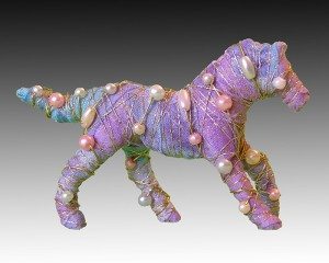 Horses with attitude... pin - multicolor